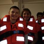 учебная тревога на лайнере