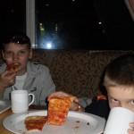 пицца на корабле